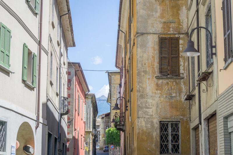 Graubuenden Schweiz Bernina Express Tirano Italien