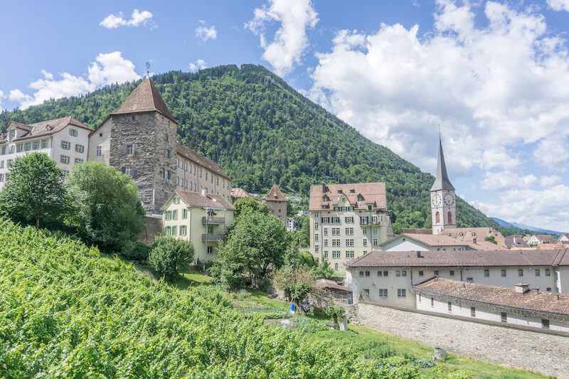 Graubuenden Schweiz Chur Bernina Express