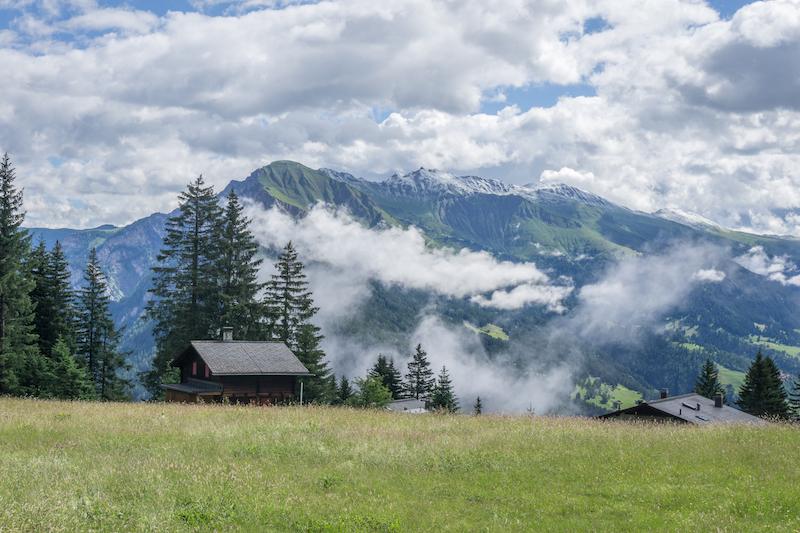 Graubuenden Schweiz Chur Hausberg Brambueesch