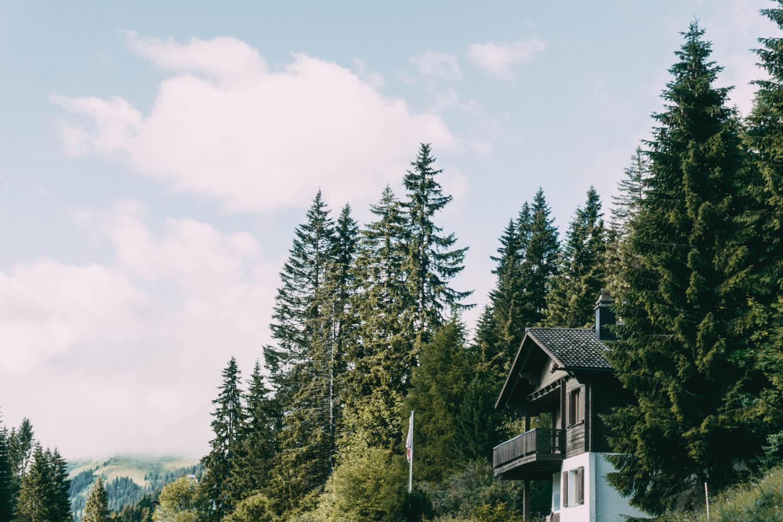 Graubuenden Schweiz Chur Hausberg Brambuesch