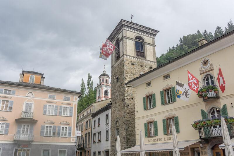 Graubuenden Schweiz Poschiavo