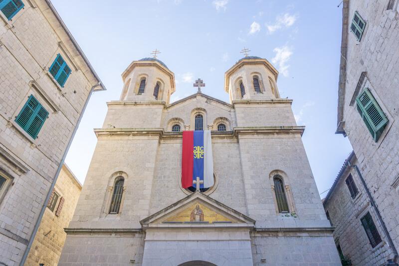 Kotor Altstadt Kathedrale Montenegro