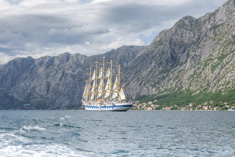 Kotor Bucht Montenegro Bootstour Perast