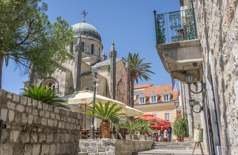 Kotor Bucht Montenegro Herceg Novi