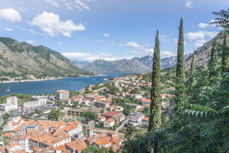 Kotor Bucht Montenegro Kotor Bay
