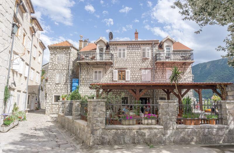 Kotor Bucht Montenegro Perast