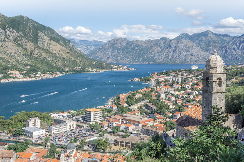 Montenegro Rundreise Bucht von Kotor Perast Fortress