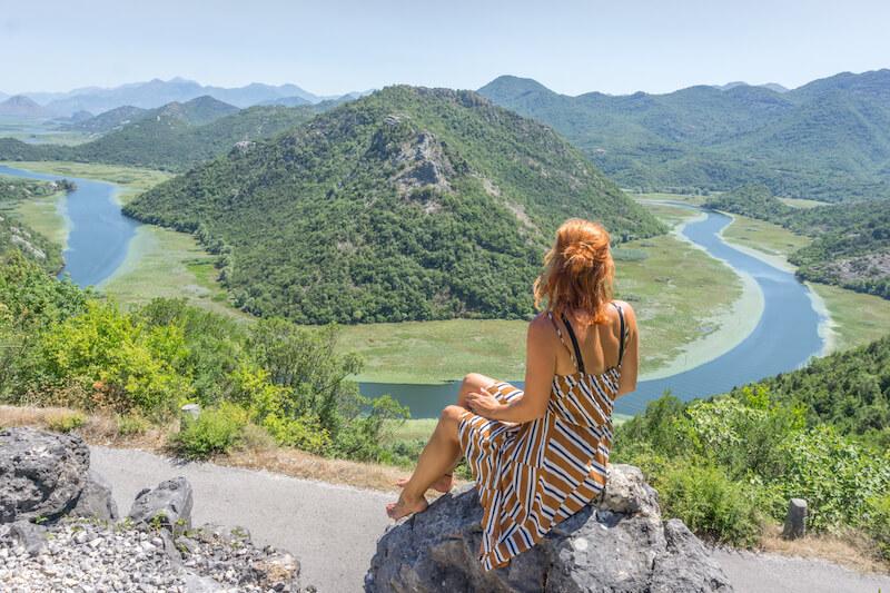 Montenegro Rundreise Skadar Lake Flussschleife