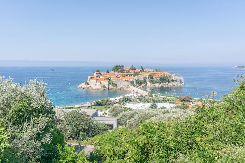 Montenegro Rundreise Sveti Stefan Budva Adria