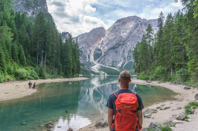 Pragser Wildsee Dolomiten Italien