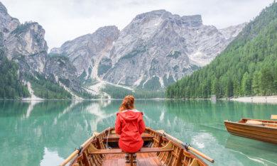 Pragser Wildsee Dolomiten Suedtirol Italien
