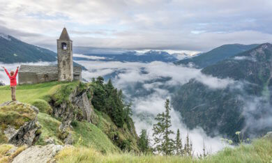 Refugio Alpe San Romerio Schweiz Brusio