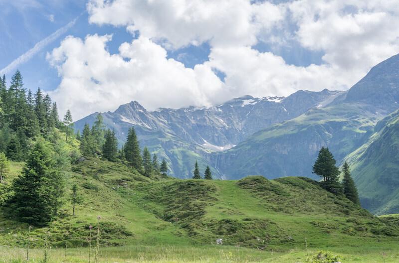 Alpenhaus Gasteinertal Landschafts Lithopunktur Gastein