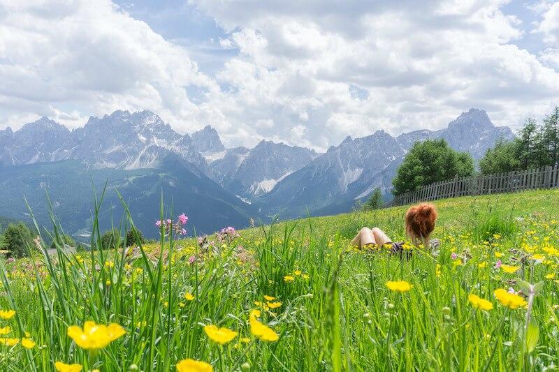 Aussichtsberg Helm Sexten Dolomiten