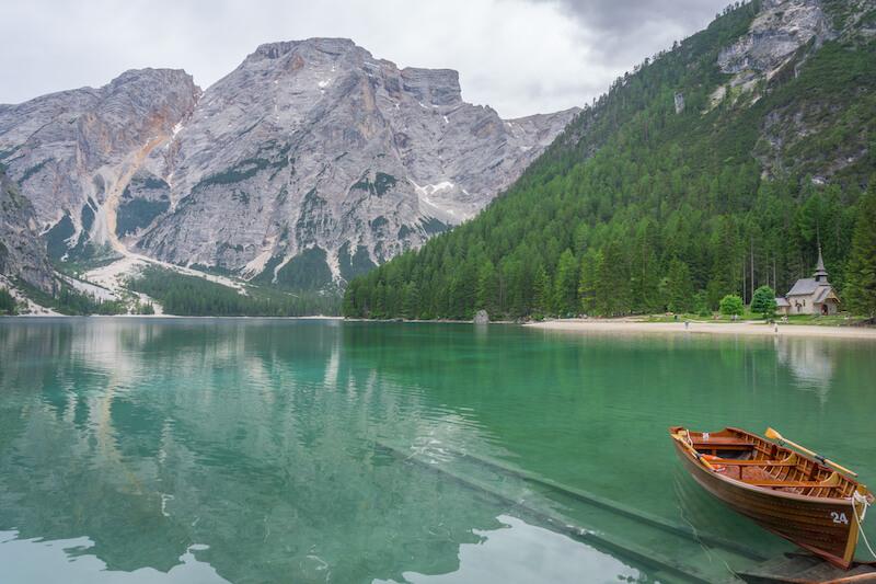 Pragser Wildsee Wanderung Dolomiten