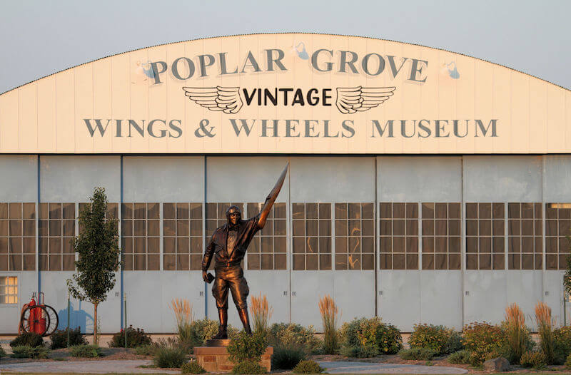 Rockford Poplar Grove Vintage Wings & Wheels Museum