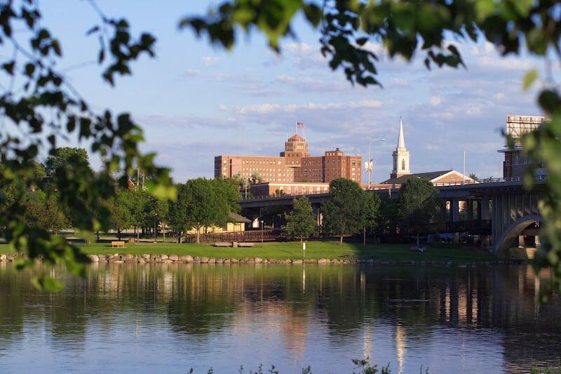 Rockford Rock River Illinois USA