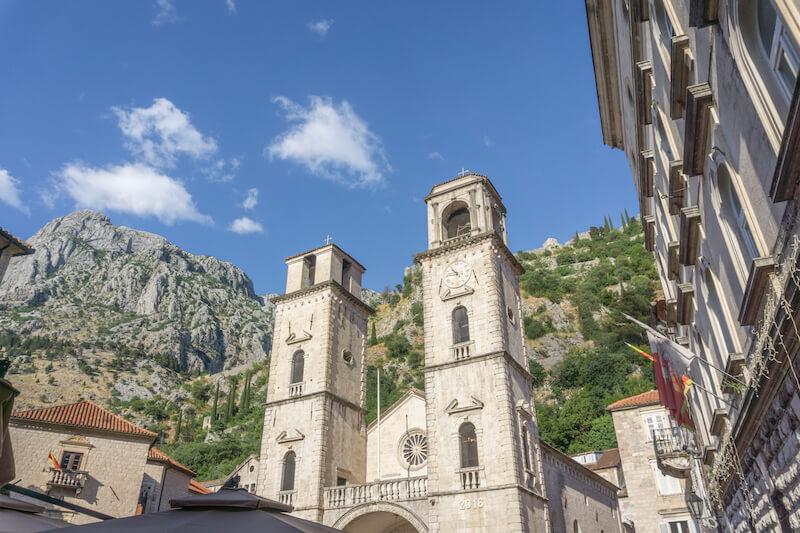 Kotor Montenegro Altstadt Kathedrale