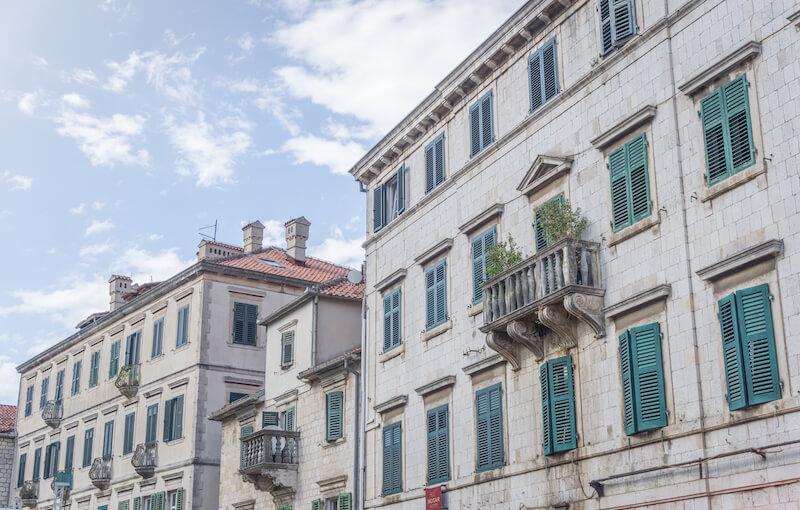 Kotor Montenegro Altstadt