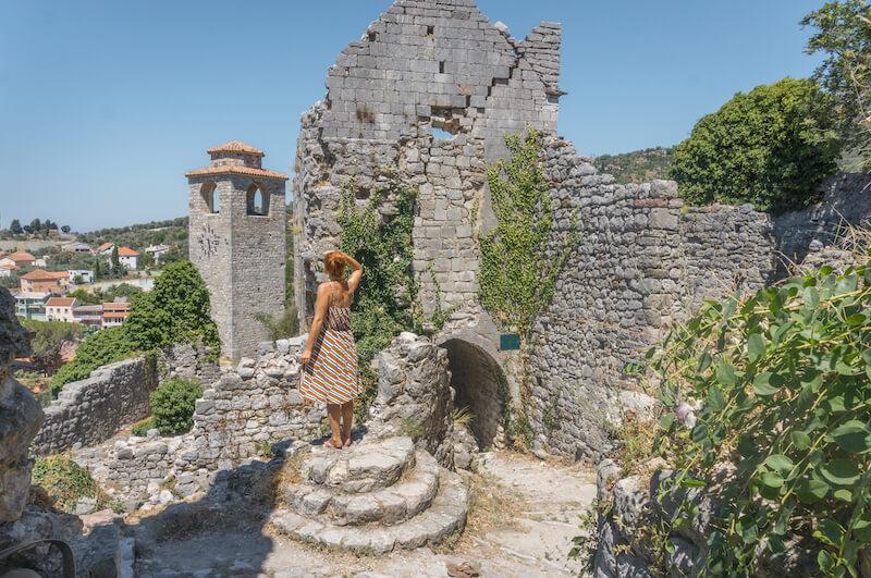 Montenegro Roadtrip Stari Bar Altstadt Ruinen