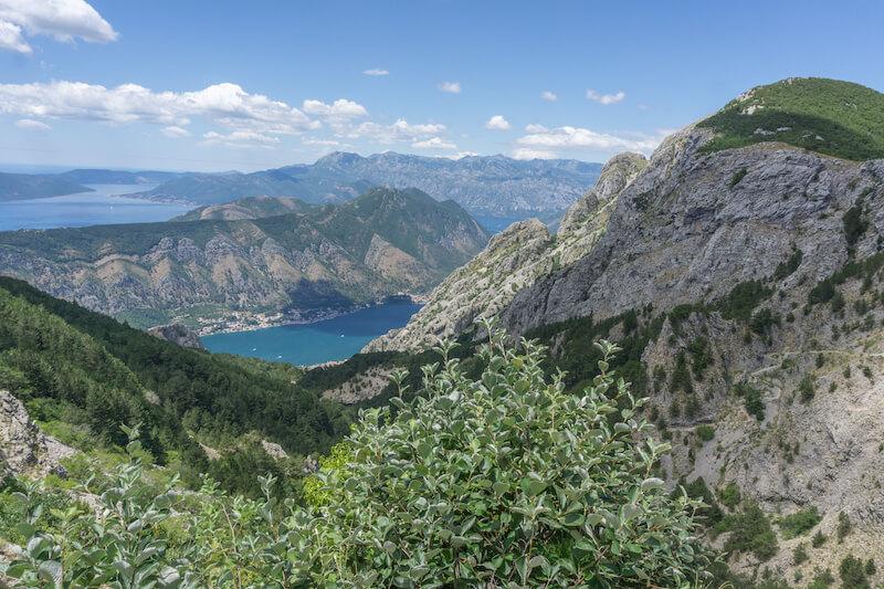 Montenegro Rundreise Lovcen Nationalpark Kotor Bucht
