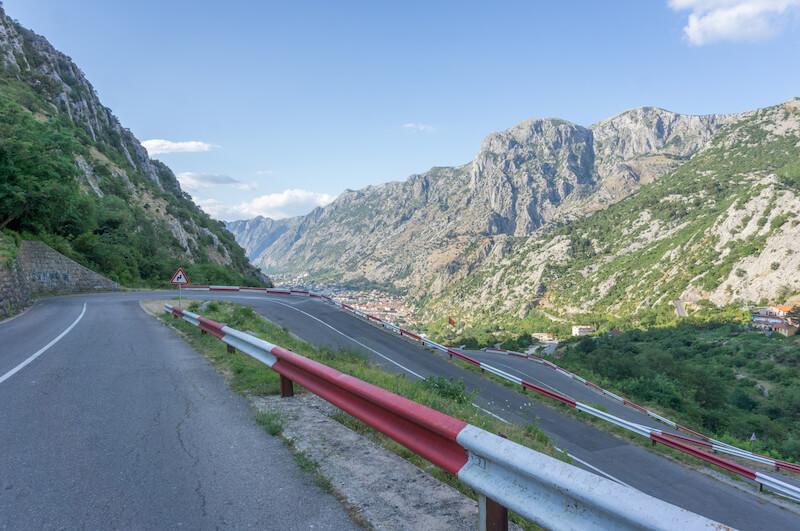 Montenegro Rundreise Mietwagen Lovcen Kotor