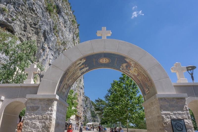 Montenegro Rundreise Ostrog Monastery