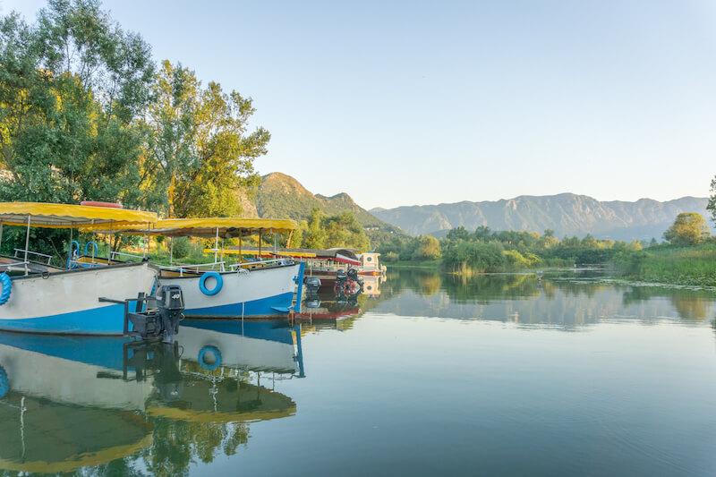 Montenegro Skadar Lake Virpazar