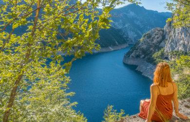 Montenegro Urlaub Roadtrip Piva Schlucht Balkan