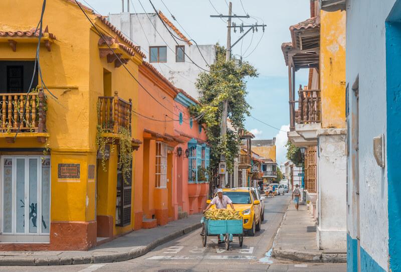 Cartagena de Indias Altstadt Kolumbien