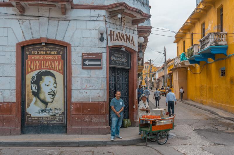 Cartagena de Indias Getsemani Cafe Havana