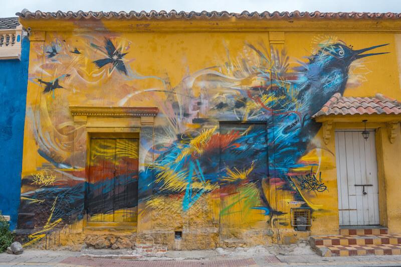 Cartagena de Indias Getsemani Graffiti