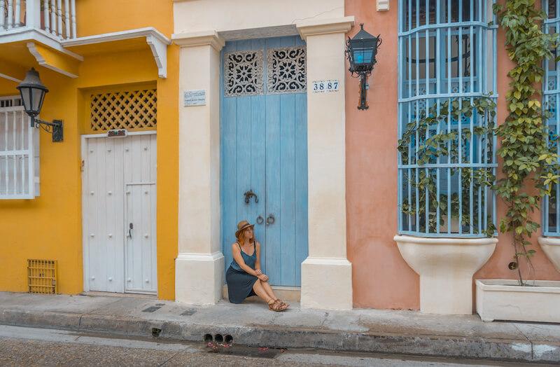 Cartagena de Indias Kolumbien Altstadt