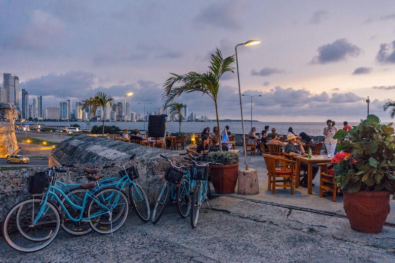Cartagena de Indias Kolumbien Cafe del Mar