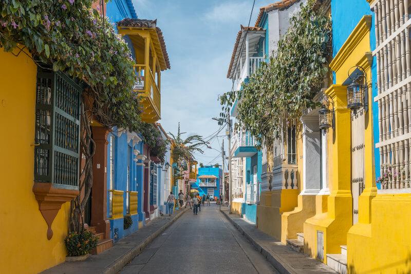 Cartagena de Indias Kolumbien Getsemani
