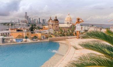 Cartagena de Indias Kolumbien Karibik