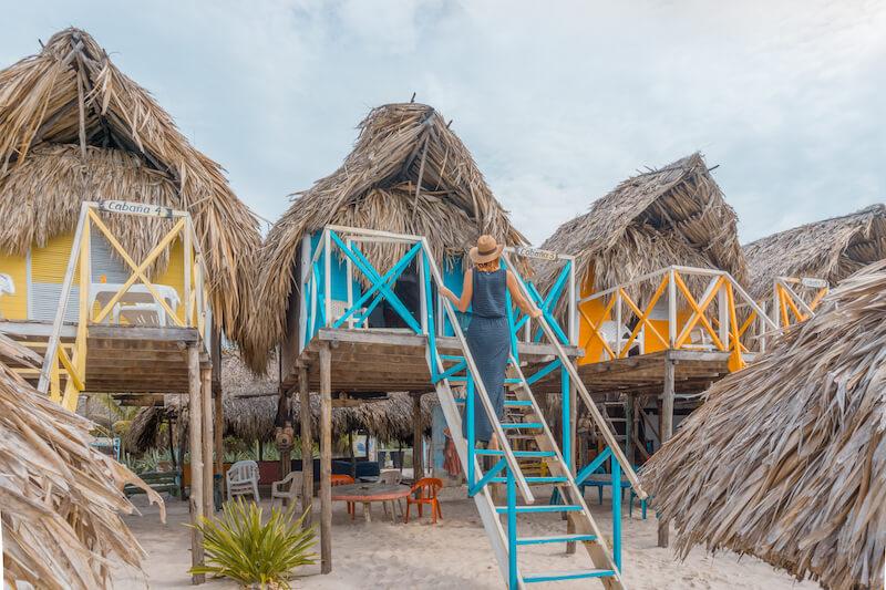 Cartagena de Indias Kolumbien Playa Blanca
