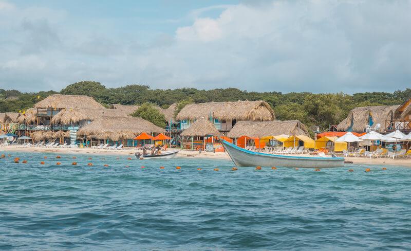 Cartagena de Indias Playa Blanca Isla Baru Kolumbien