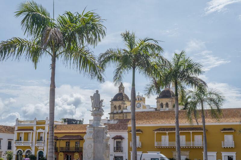 Cartagena de Indias Plaza de los Coches Kolumbien