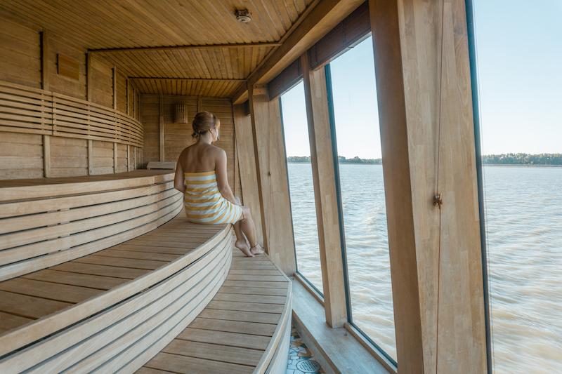 Donau Kreuzfahrt Arosa Bella Sauna