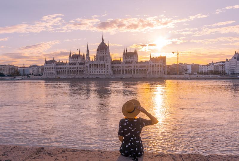 Donau Kreuzfahrt Budapest Parlament