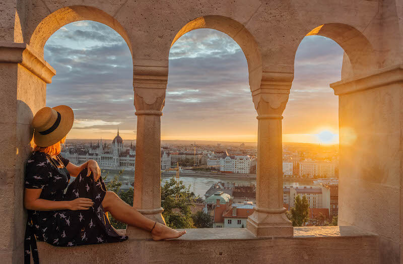 Donau Kreuzfahrt Budapest Ungarn