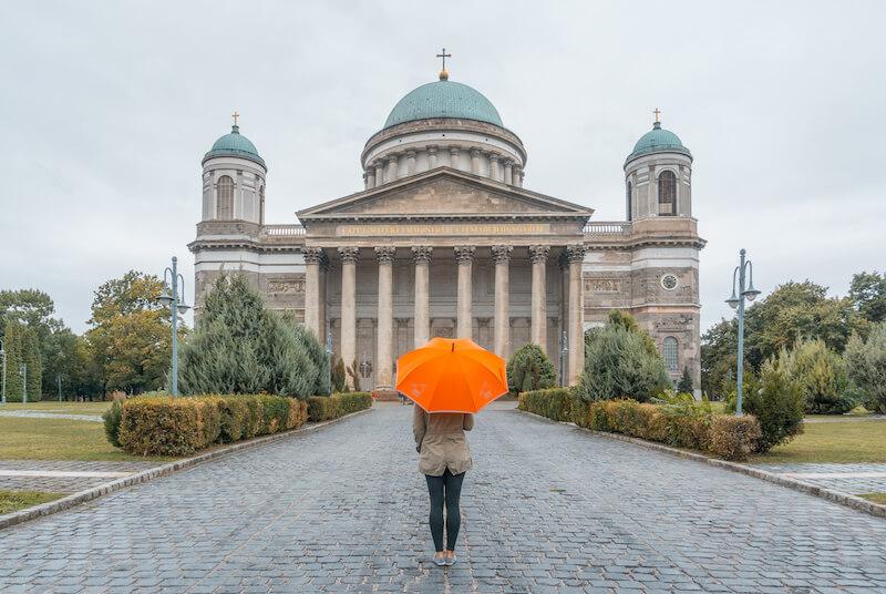Donau Kreuzfahrt Esztergom Basilika Ungarn