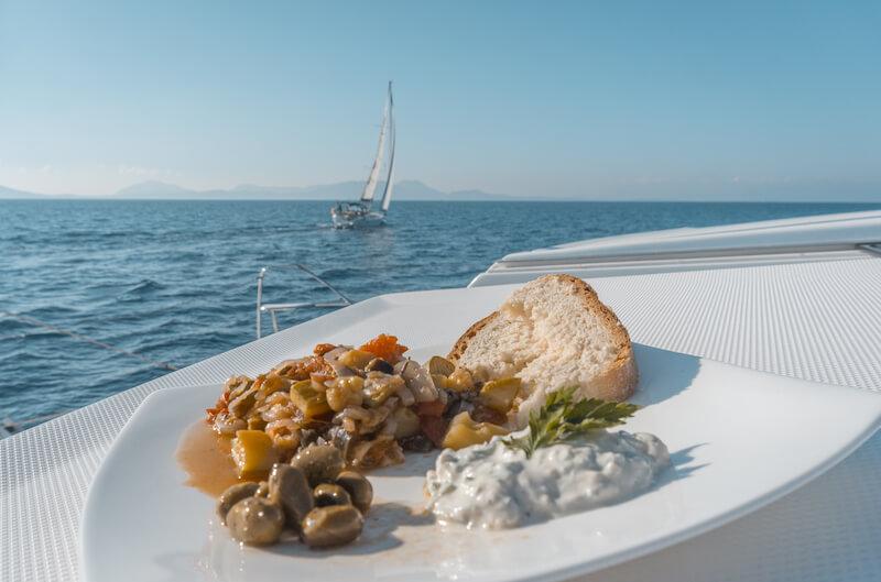 Segeln in Griechenland Ionische Inseln Katamaran