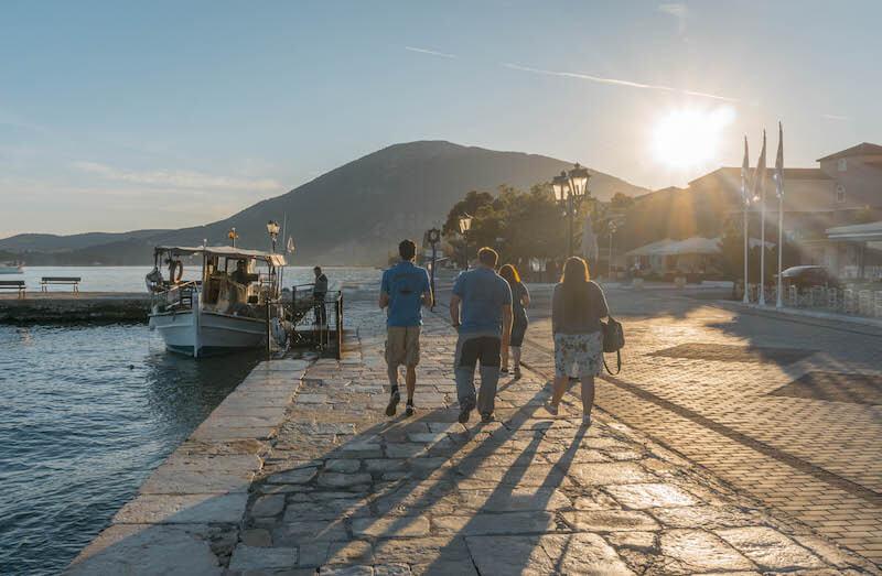 Segeln in Griechenland Ionische Inseln Vonitsa