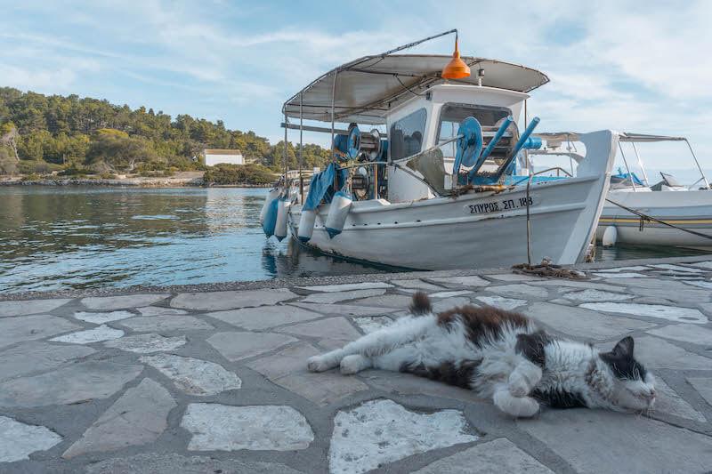 Segeln in Griechenland Ionisches Meer Gaios Paxos