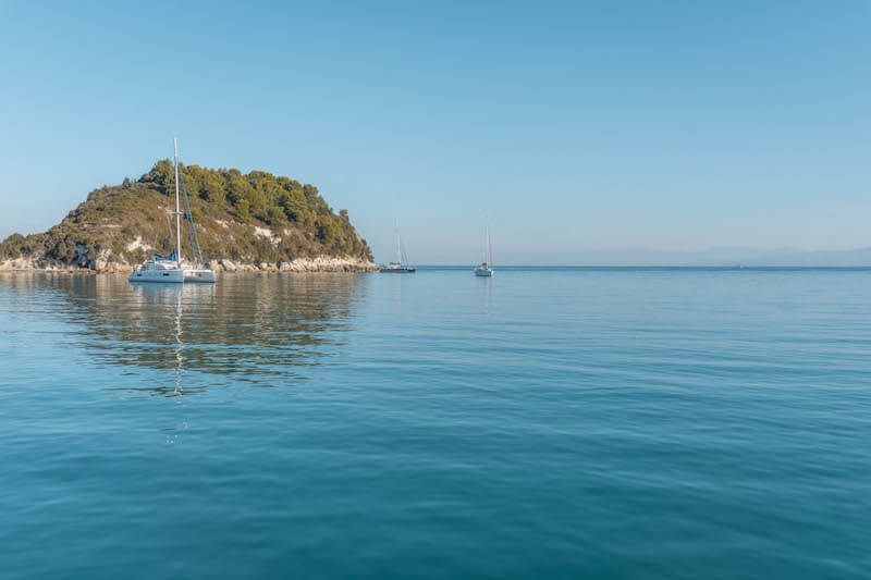 Segeln in Griechenland Ionisches Meer Lakka Paxos