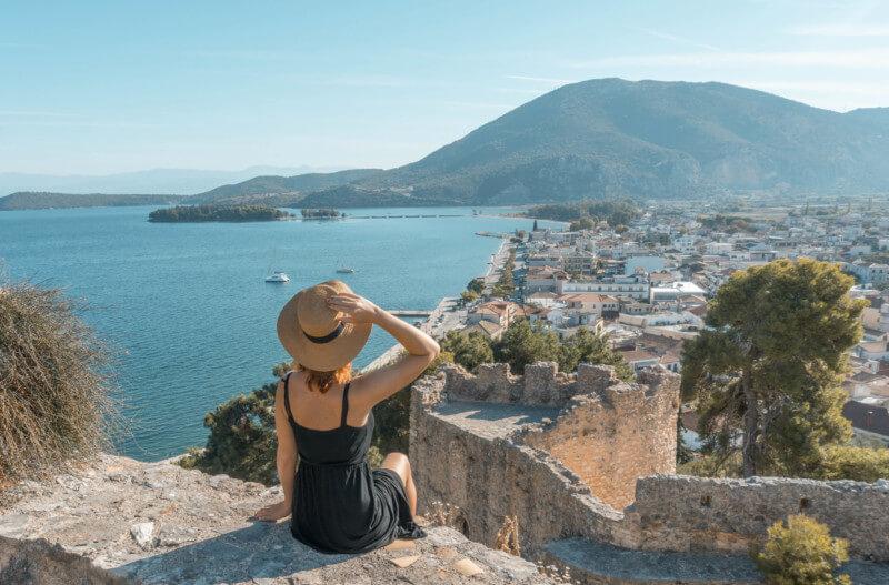 Segeln in Griechenland Ionisches Meer Vonitsa Festung