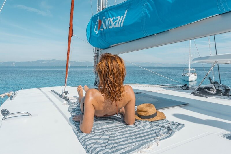 Segeln in Griechenland Ionisches Meer Sunsail Katamaran