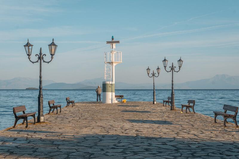 Segeln in Griechenland Ionisches Meer Vonitsa